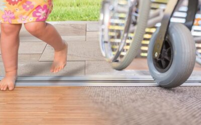 Safe access for all with the award winning Alumat barrier-free threshold